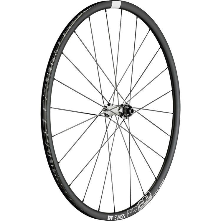 DT Swiss PR 1600 SPLINE disc brake wheel, clincher 23 x 18 mm, front