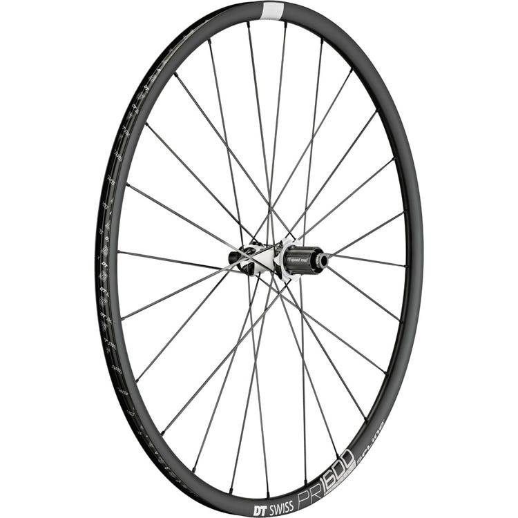 DT Swiss PR 1600 SPLINE disc brake wheel, clincher 23 x 18 mm, rear