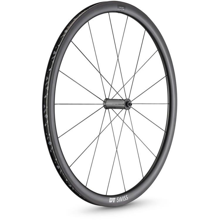 DT Swiss PRC 1100 DICUT Mon Chasseral wheel, carbon clincher 35 x 18 mm rim, front