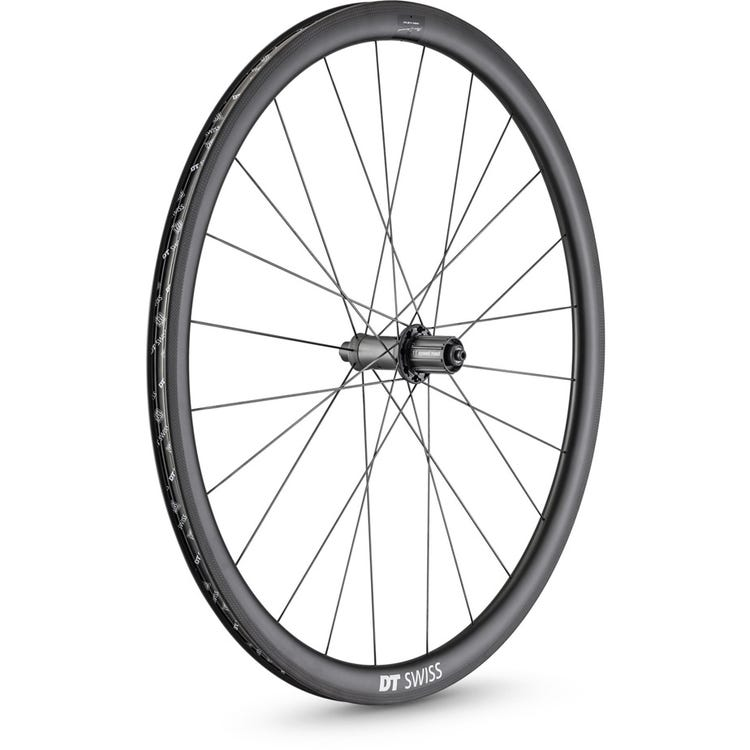 DT Swiss PRC 1100 DICUT Mon Chasseral wheel, carbon clincher 35 x 18 mm rim, rear