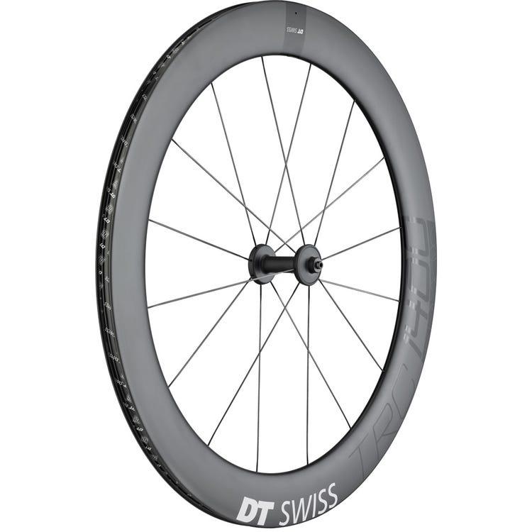 DT Swiss TRC 1400 DICUT track wheel, full carbon tubular 65 mm, front