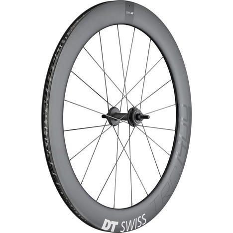 TRC 1400 DICUT track wheel, full carbon tubular 65 mm, rear