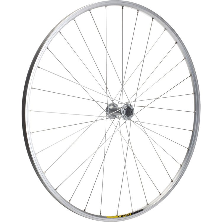 M Part Wheels Shimano R400 / Mavic Open Elite silver / DT Swiss P/G front wheel