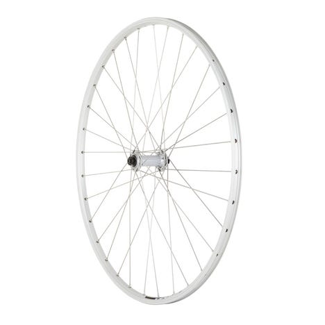 Shimano R400 / Mavic Open Elite silver / DT Swiss P/G front wheel