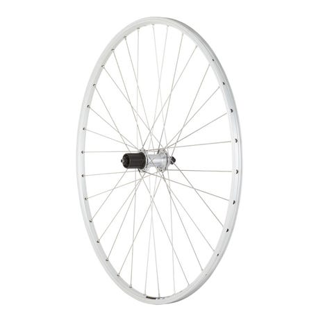 Shimano R400 / Mavic Open Elite silver / DT Swiss P/G rear wheel