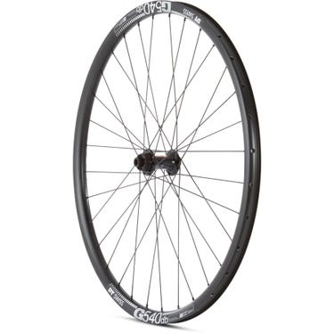 Gravel Front Wheel DT 370 CL Hub G 540 Rim TLR black 700c