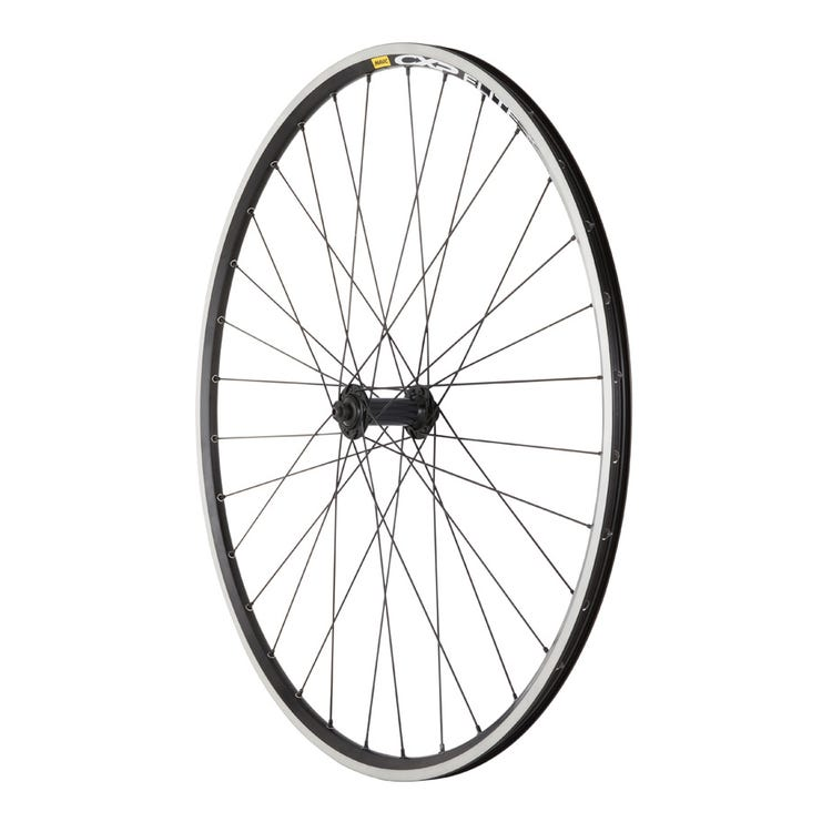 M Part Wheels Shimano RS400 Q/R / Mavic CXP Elite 700C 32h black / DT Swiss PG spokes / Front