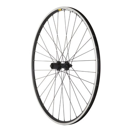 Shimano RS400 Q/R / Mavic CXP Elite 700C 32H Black/ DT Swiss PG spokes / Rear