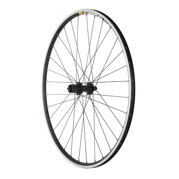 M Part Wheels Shimano RS400 Q/R / Mavic CXP Elite 700C 32H Black/ DT Swiss PG spokes / Rear