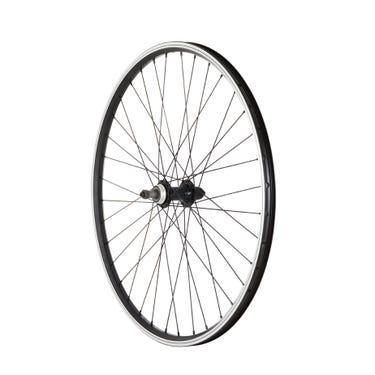 MTB Rear Quick Release Screw On Wheel black 26 inch