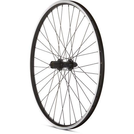 MTB Rear Quick Release Cassette Wheel black 26 inch