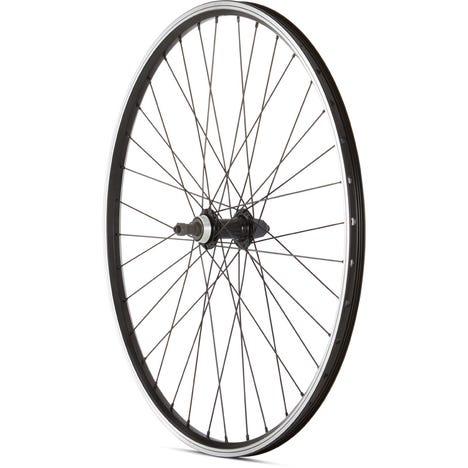 MTB Rear Quick Release Screw On Wheel black 27.5 inch