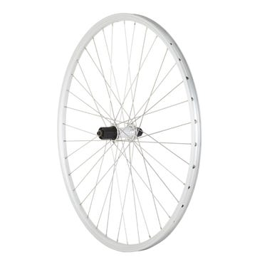 Hybrid Quick Release Cassette Wheel silver 700c