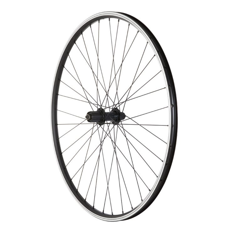 M Part Wheels Alloy Hub Q/R (Suits 8/9/10 Speed) Cassette 135 MM/36H 700C DW Hybrid Rim/DT SS