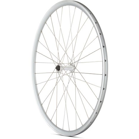 Road Front Quick Release Wheel silver 700c