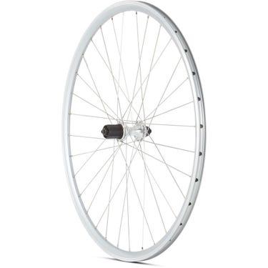 Road Rear Quick Release Cassette Wheel silver 700c
