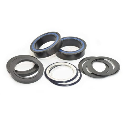 Wheels Manufacturing BB86/92 Black Oxide ABEC-3 Bearings 30mm Cranks
