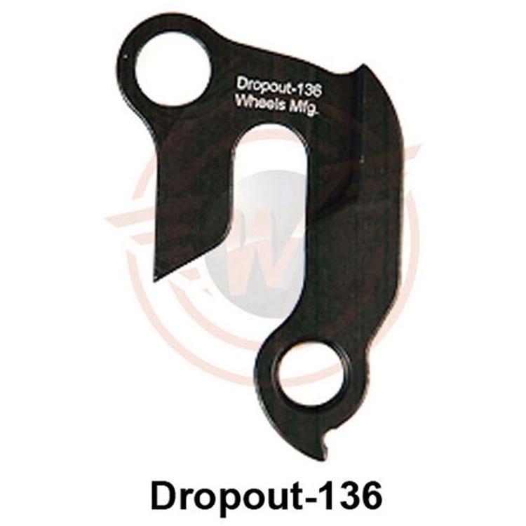 Wheels Manufacturing Replaceable derailleur hanger / dropout 136