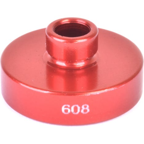 Replacement 608 open bore adaptor for the WMFG small bearing press