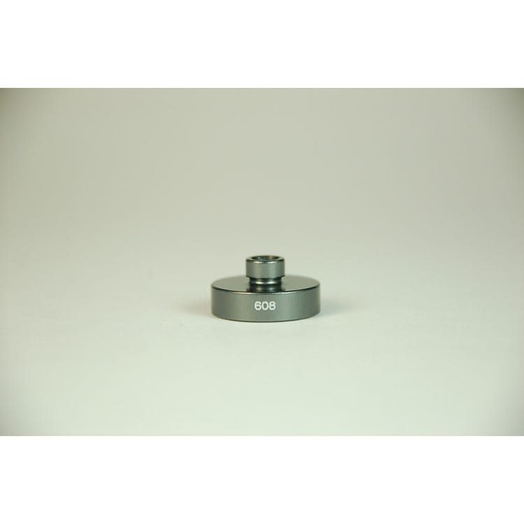 Wheels Manufacturing Replacement 608 open bore adaptor for the WMFG small bearing press