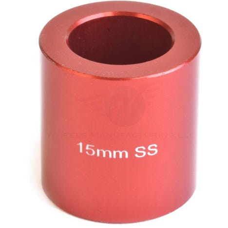 Spacer for use with 15mm axles for the WMFG over axle kit