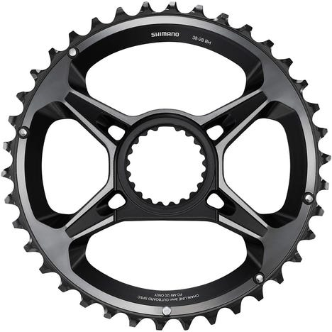 FC-M9120-B2 chainring, 38T-BH, for 38-28T