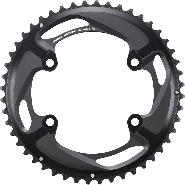 Shimano GRX GRX FC-RX810 chainring 48T-ND, for 48-31T