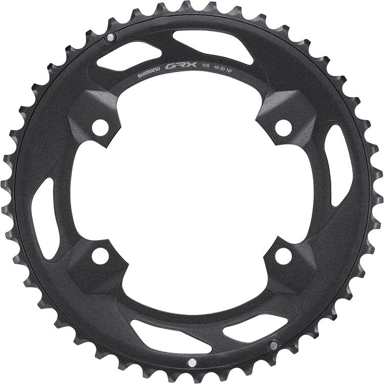 Shimano GRX FC-RX600-10 chainring 46T-NF