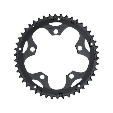 Shimano Spares FC-2450 chainring, 46T-F, black for chain guard