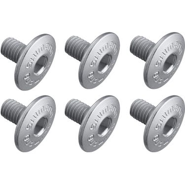 Cleat fixing bolt, M5 x 8 mm, pack of 6