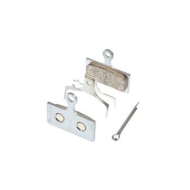 G04S disc brake pads, steel backed, metal sintered