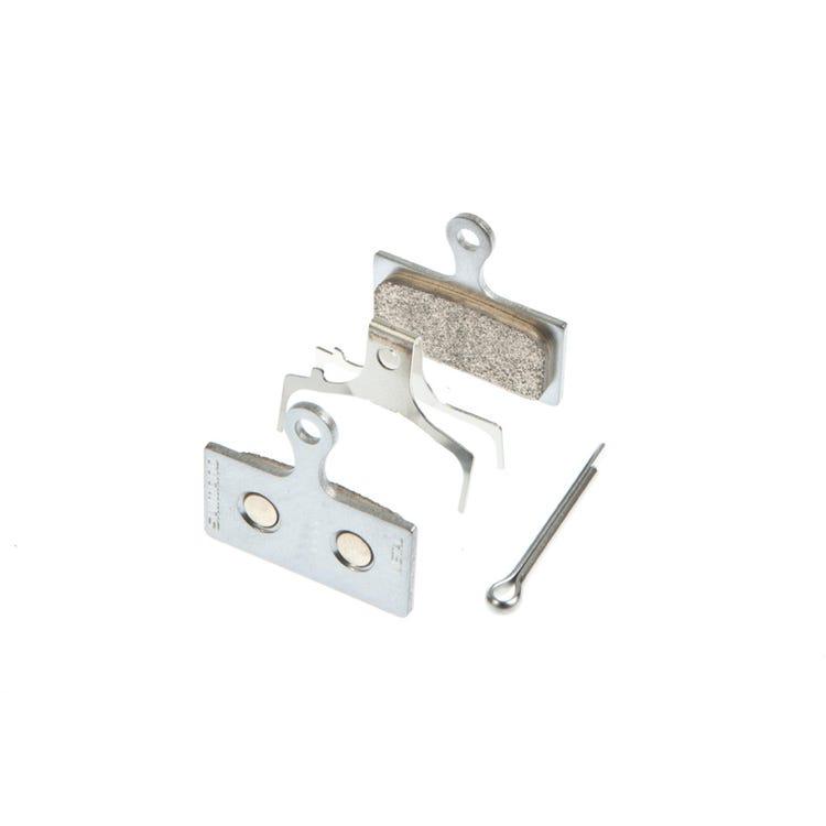 Shimano Spares G04S disc brake pads, steel backed, metal sintered