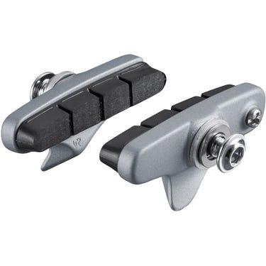 BR-R7000 R55C4 cartridge type brake shoe set, silver, pair
