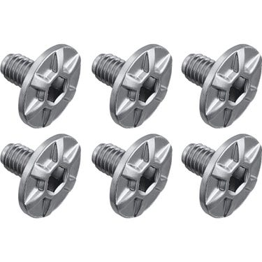 PD-R9100 cleat fixing bolt, M5 x 8 mm, pack of 6