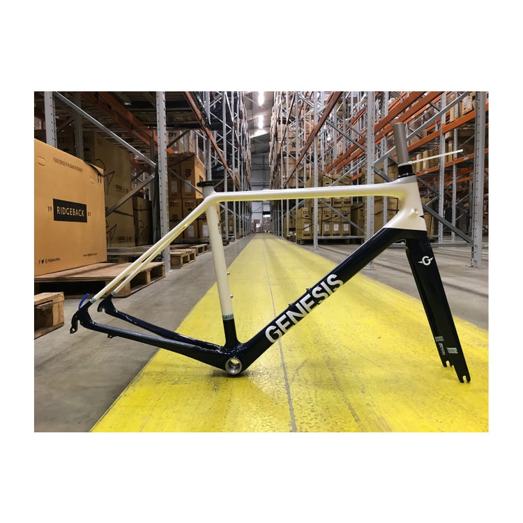 Genesis 2017 Zeal Womens frameset Small Brand Sample (Unused)