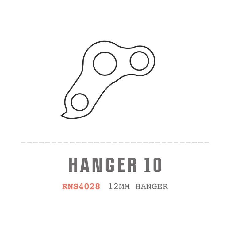 Saracen Hanger 10 fits: All Myst 2011/12 Alloy Frame Models
