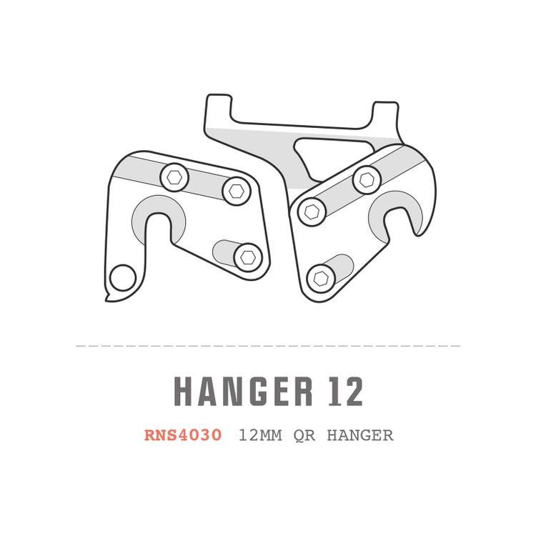 Saracen Hanger 12 fits: ALX 2011/12 Models (12x135mm hangers PAIR)