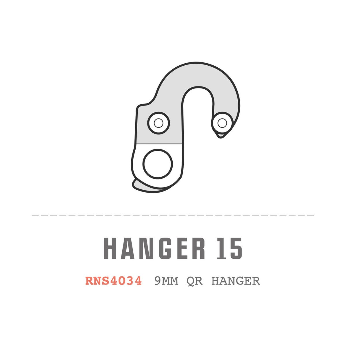 Saracen Hanger 15 fits: All Tufftrax 2012 Models