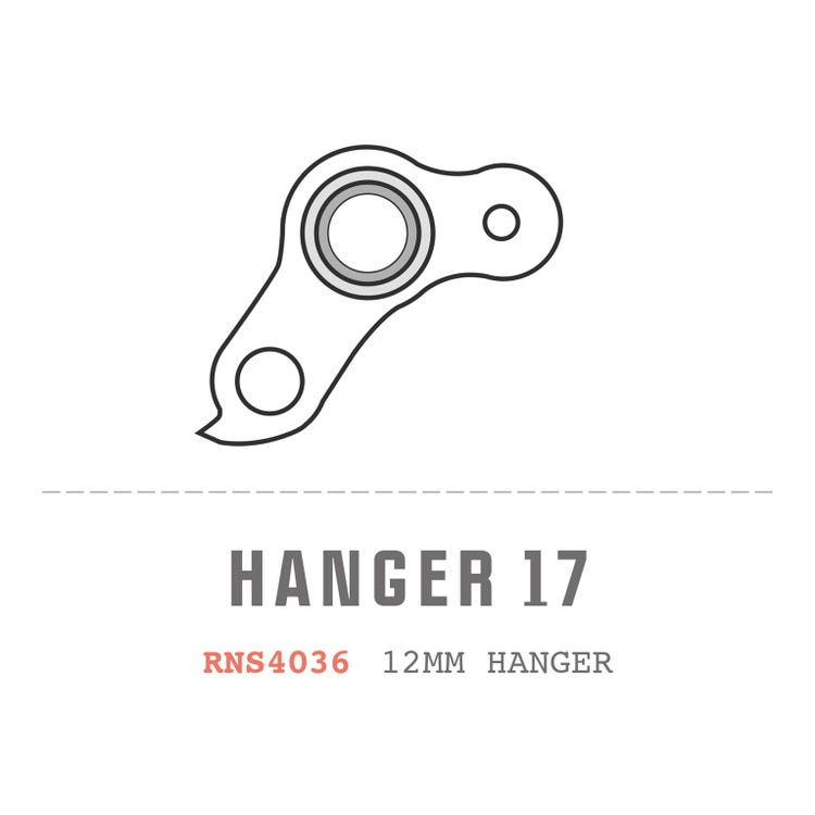 Saracen Hanger 17 fits: All Myst 2013 - 2018 Carbon Frame Models