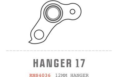 Saracen Hanger 17 fits: All Myst 2013 - 2018 Carbon Frame Models