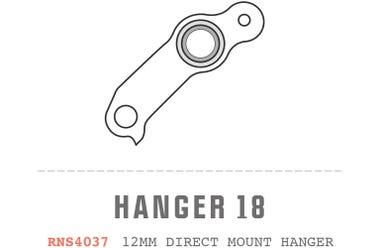 Saracen Hanger 18 fits: All Myst 2013 Carbon Frame Models Direct Mount