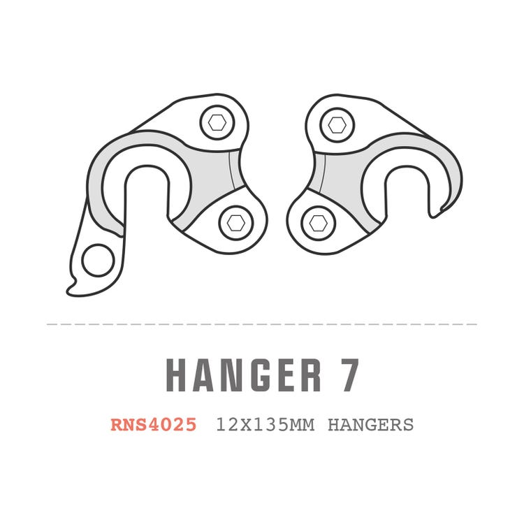Saracen Hanger 07 fits: All Ariel models (12x135mm hangers pair)