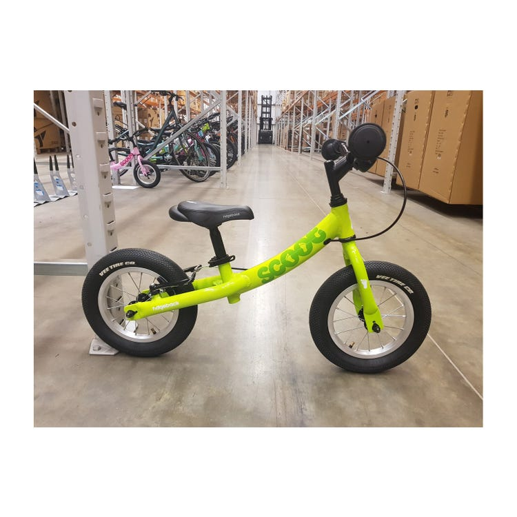 "Ridgeback 2020 Scoot 12"" Lime Bike sample (used)"