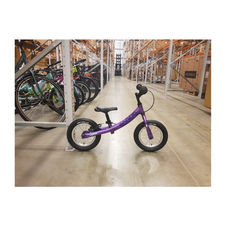 "Ridgeback 2020  Scoot 12"" Purple Bike sample (used)"