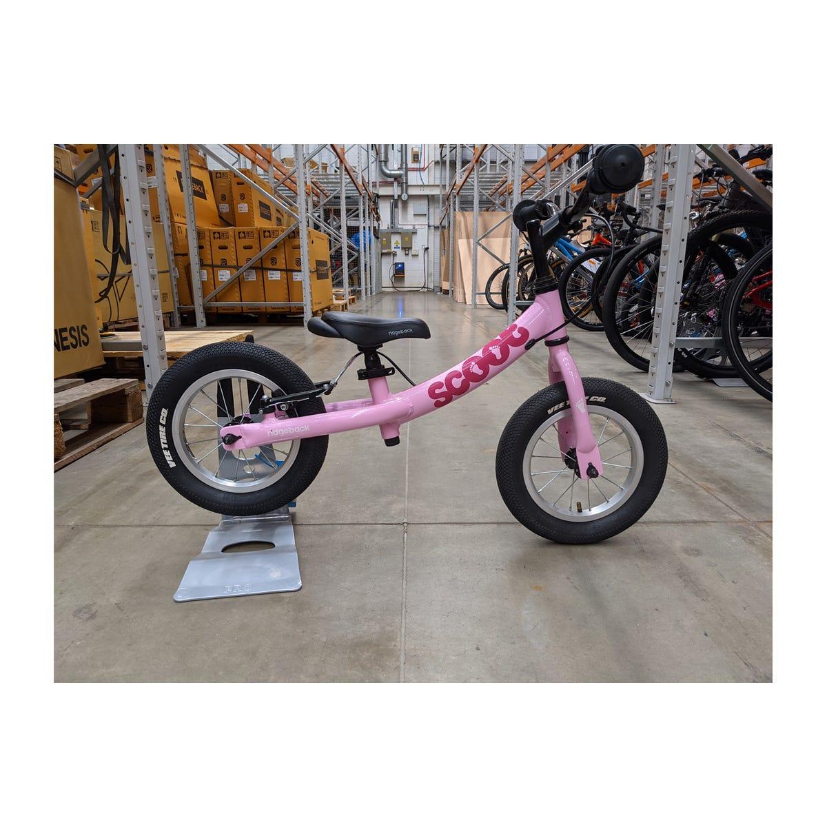 "Ridgeback 2020  Scoot 12"" Pink Ex Brand Sample Bike"