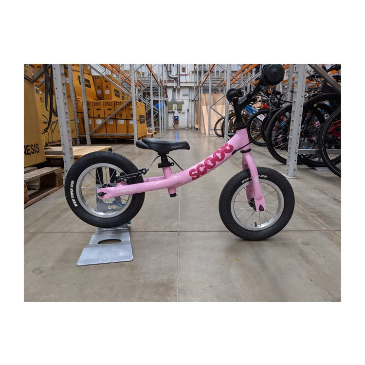 "Ridgeback 2020  Scoot 12"" Pink Ex Brand Sample Bike"