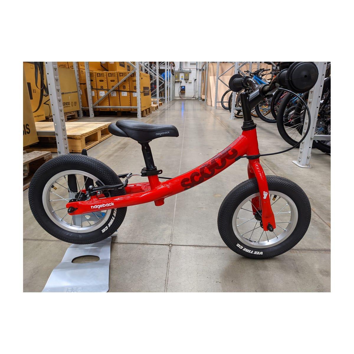 Ridgeback 2020  Scoot Red Ex Brand Sample Bike