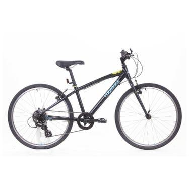 Dimension 24 inch bike black Ex Demo Bike (Used)