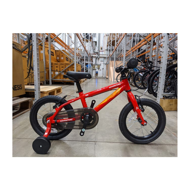 "Adventure  140 RED 14"" Ex Brand Sample Bike"