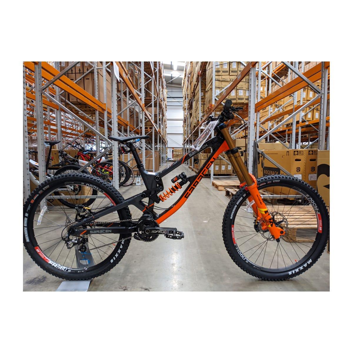 Saracen Myst Team Factory bike unused sample